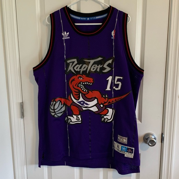 official photos 3d323 c2aae Toronto Raptors Vince Carter Adidas Jersey